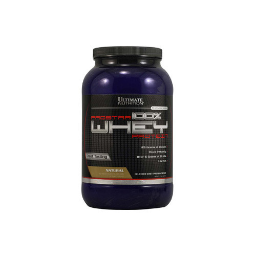 Ultimate Nutrition Prostar 100 % Whey Protein, 2 lb Banana