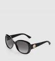 d831bd721ef3b Women Oval-Frame Optyl And Rubber Sunglasses   Women Oversize Optyl ...