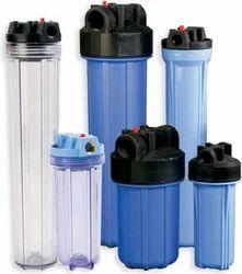 Blue Plastic Micron Cartridge Filter Housing, 3 Kg., Size: 4*20