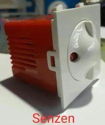 Full Rotary White,Red Polycarbonate Fan Regulator, 120 W