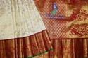 Kanchi Silk Bridal Wear Allover Brocade Saree