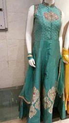 Leaf Green Ladies Dress
