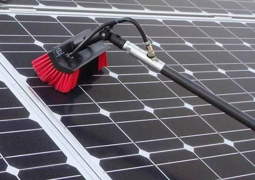 Solar Panel Cleaning Brush Solar Cell New Textile