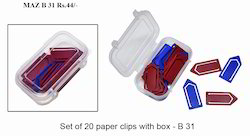 Taz B31 Paper Clips with Box