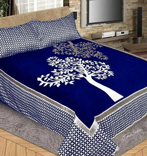 Delightful Premium Velvet Bedsheet