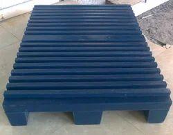 Blue Lldpe Plastic Printing Pallet