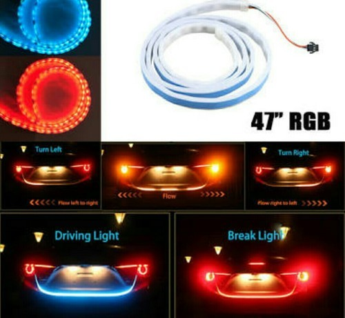Car trunk light flowing led strip at rs 1280 box car light car trunk light flowing led strip aloadofball Images