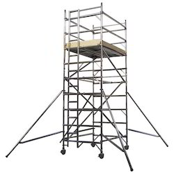 Double Width Tower Scaffold With Stair For Rental