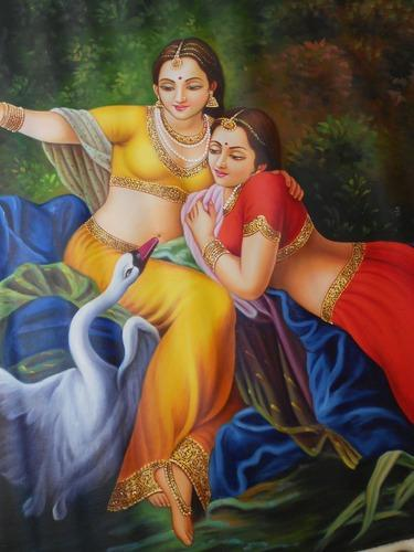 Matte Multicolor Traditional Paintings