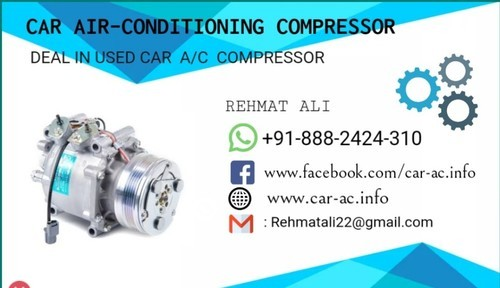 Second hand used ac car compressor - AC Compressor Car Used