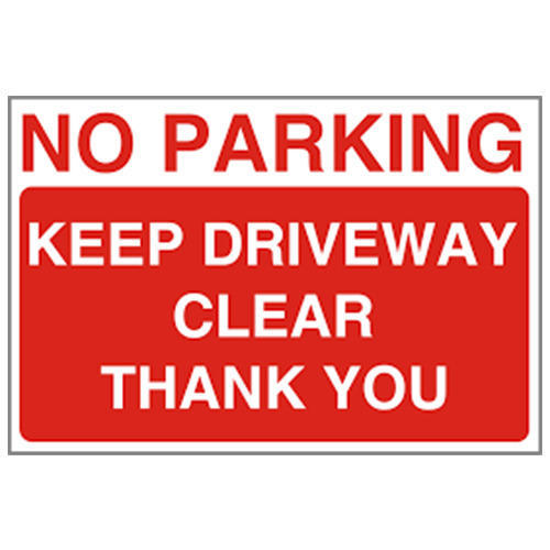 image about Printable No Parking Signs identify Parking Indicators