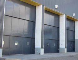 Stainless Steel Vertical Telescopic Doors, for Hotel