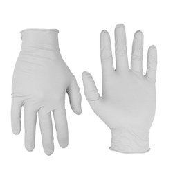 White Latex Examination Gloves