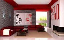 Living Room Interior Work