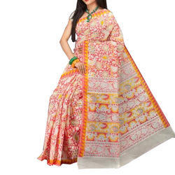 Polyester Georgette Saree