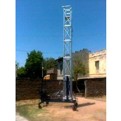 Tiltable Mobile Tower Ladder Hire