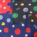 Smiley Print Fabric