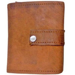 Genuine Leather Currency Wallet WLT115