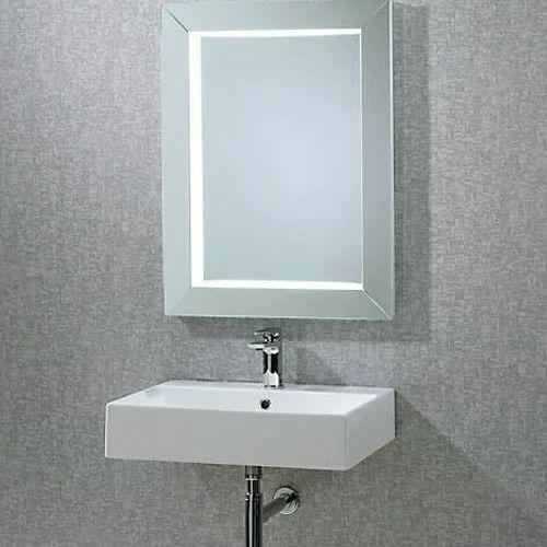 Adjustable Bathroom Wall Mirrors: Square Adjustable Bathroom Mirror At Rs 7125 /piece