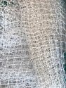 White Construction Safety Nets