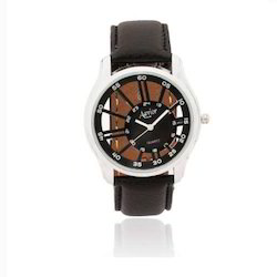 Transparent Leather Back Watch