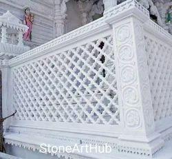 Marble White Jali