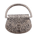 White Metal Decorative Purse