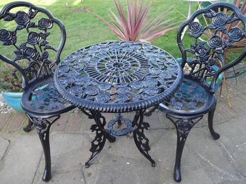 Cast Iron Chair Table At Rs 29000 Set