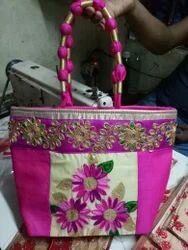 QTC Cotton Pooja Bags