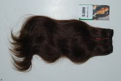 Wavy Machine Weft Indian Hair