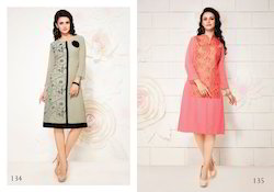 Party Wear Ladies Georgette Kurti