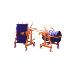 Manual Drum Lifter Cum Tilter Trolley