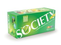 Society Lemon Flavored Green Tea Bags