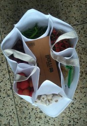 Vegetable Compartment Grocery Bag
