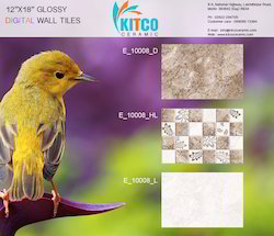 Floor and Wall Tiles for Toilet, Thickness: 8 - 10 mm