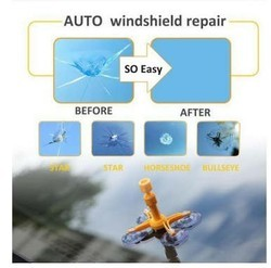Car Glass Repairing Without Removing The Glass