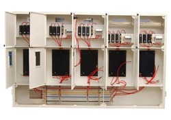 Three Phase Control Panel With Five Controls