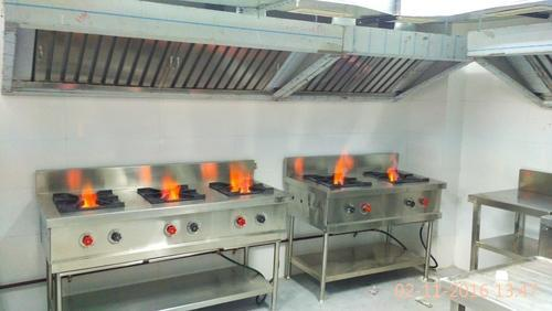 Commercial Hotel Kitchen Exhaust Hood