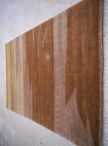 Brown labellus Indo Nepalese Carpets, for Home