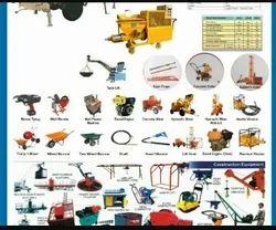 Construction Equipment Rental In Thane
