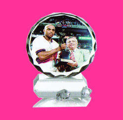 Table Top Promotional Crystal Photo Frame, Packaging Type: Box