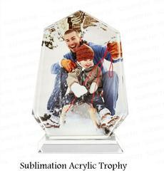 Sublimation Trophies - Sublimation Acrylic Trophy