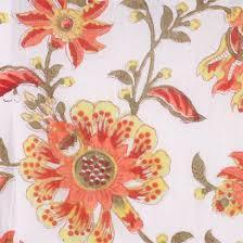 Hand Block Floral Print Fabric