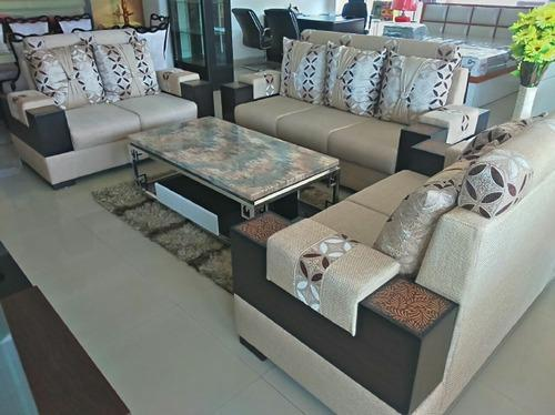 Fabulous Fabric Sofa Set Gmtry Best Dining Table And Chair Ideas Images Gmtryco