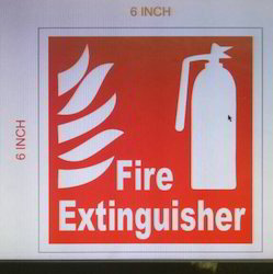 Fire Extinguishers Indicating Sign