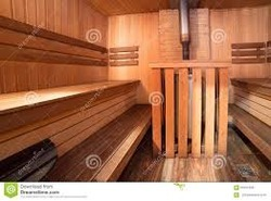 Sauna Bath Wooden Room
