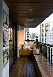 Balcony Wooden Cladding