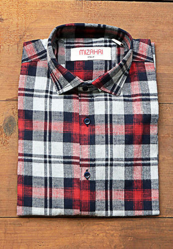 ee6450d4778a White Red Grey Black Premium Check Shirt, चेक वाली कमीज ...
