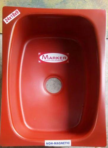 Kitchen Sinks - Marker Kitchen Sink Manufacturer from New Delhi