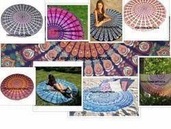 Mandala Hippie Roundie 72 Tapestries